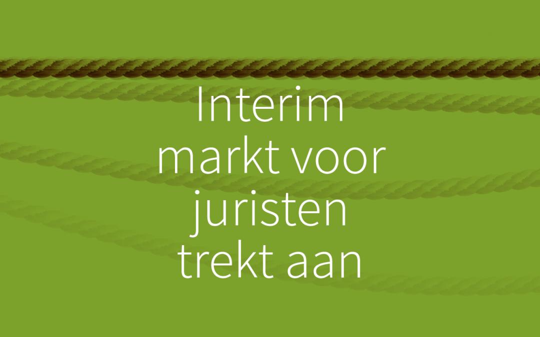 Interim markt voor juristen trekt aan